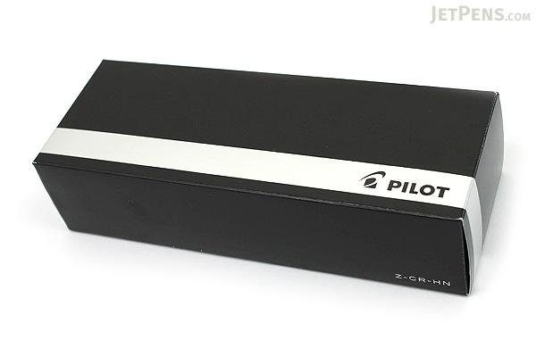 Pilot Cavalier Duo-Color Body Fountain Pen - Black & Red - Medium Nib - PILOT FCA-5SR-BR-M