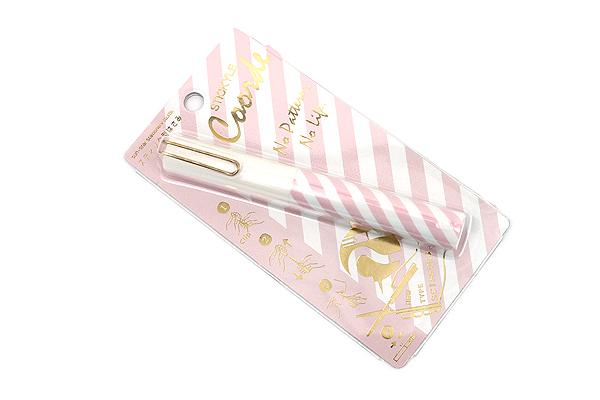 Sun-Star Stickyle Pen-Style Scissors - Coorde White / Pink - SUN-STAR S3713490