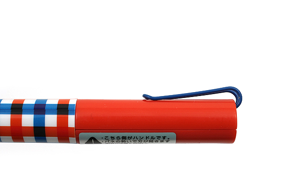 Sun-Star Stickyle Pen-Style Scissors - Coorde Red / Blue - SUN-STAR S3713539