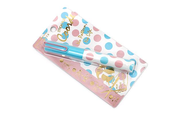 Sun-Star Stickyle Pen-Style Scissors - Coorde Light Blue / Pink - SUN-STAR S3713555