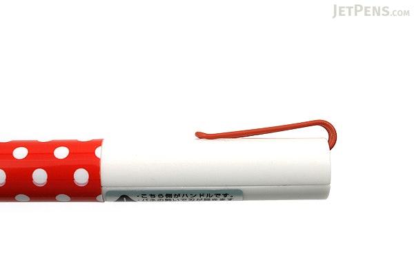 Sun-Star Stickyle Pen-Style Scissors - Coorde White / Red - SUN-STAR S3713563
