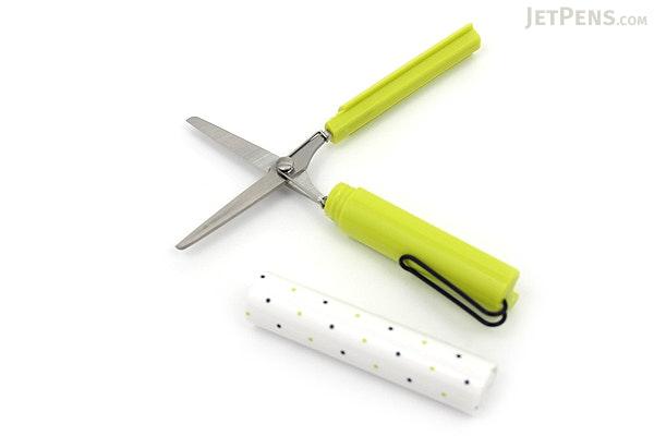 Sun-Star Stickyle Pen-Style Scissors - Coorde Light Green / Navy - SUN-STAR S3713571
