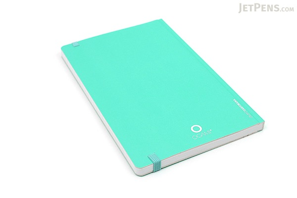 "Ogami Professional Notebook - Hardcover - Small - 5"" x 8.25"" - Plain - Blue (Aqua Green) - OGAMI OG08000026"