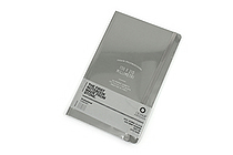 "Ogami Professional Notebook - Hardcover - Small - 5"" x 8.25"" - Ruled - Gray - OGAMI OG08000044"