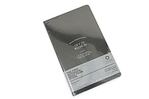 "Ogami Professional Notebook - Soft Cover - Small - 5"" x 8.25"" - Plain - Black - OGAMI OG08000015"