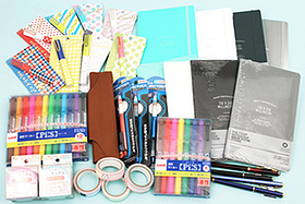 New Products: Eco-Friendly Notebooks, Fun Portable Scissors, Cute Label Stickers, Colorful Markers, Luxurious Pen Holders, and More!