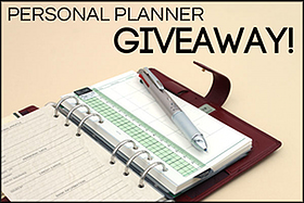 Pen Perks: Raymay Personal Planner and Multi Pen Giveaway!