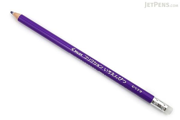 Pilot FriXion Color Pencil - Purple - PILOT PF-10-V