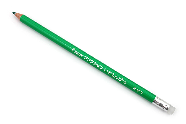 Pilot FriXion Color Pencil - Green - PILOT PF-10-G