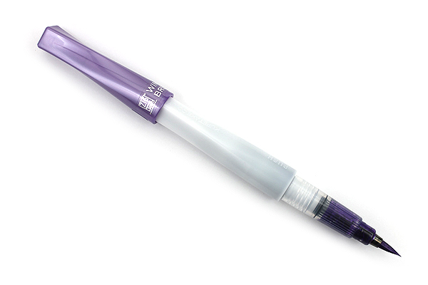 Kuretake Zig Wink of Luna Metallic Brush Pen - Violet - KURETAKE MS-60-124