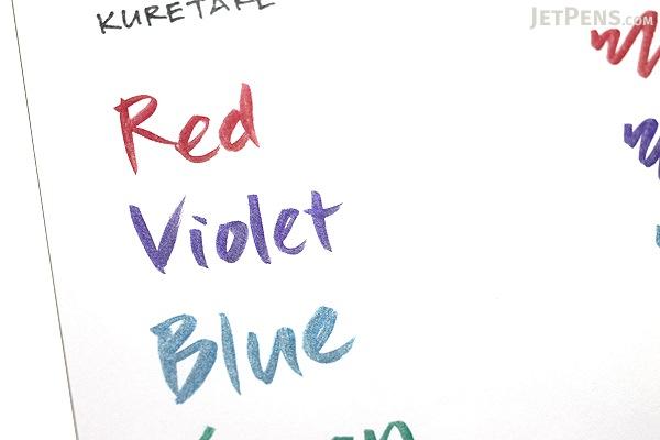 Kuretake Zig Wink of Luna Metallic Brush Pen - Violet - KURETAKE MS-60-124