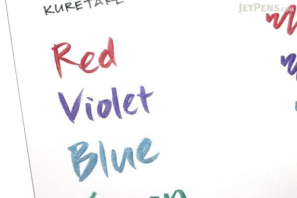 Kuretake Zig Wink of Luna Metallic Brush Pen - Red - KURETAKE MS-60-126