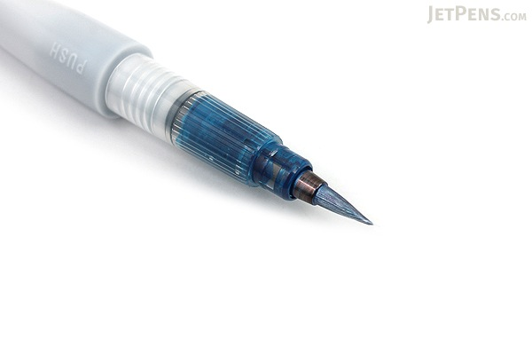 Kuretake Zig Wink of Luna Metallic Brush Pen - Blue - KURETAKE MS-60-125