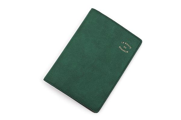 Invite.L La Route Du Bonheur Passport Cover - Dark Green - IL PC-D GREEN