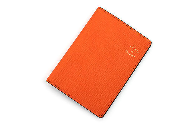 Invite.L La Route Du Bonheur Passport Cover - Orange - IL PC-ORANGE