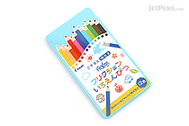 Pilot FriXion Color Pencil - 12 Color Set - Blue Case - PILOT PF-1S-12CL