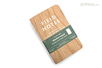 "Field Notes Color Cover Memo Book - Shelterwood Limited Edition - 3.5"" x 5.5"" - 48 Pages - 6.5 mm Rule - Pack of 3 - FIELD NOTES FNC-22"