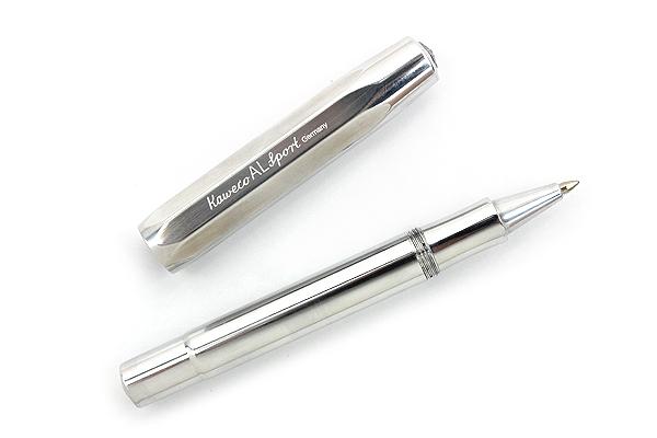 Kaweco AL Sport Rollerball Pen - Medium Point - Raw Aluminum Body - KAWECO 10000665
