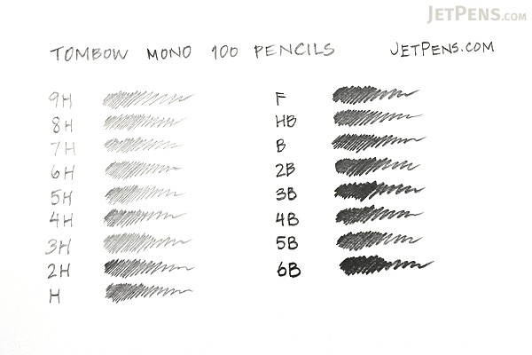 Tombow Mono 100 Pencil - 6H - TOMBOW MONO-1006H