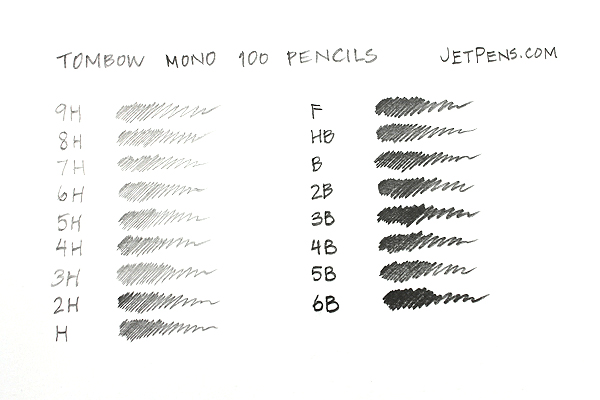 Tombow Mono 100 Pencil - 7H - TOMBOW MONO-1007H