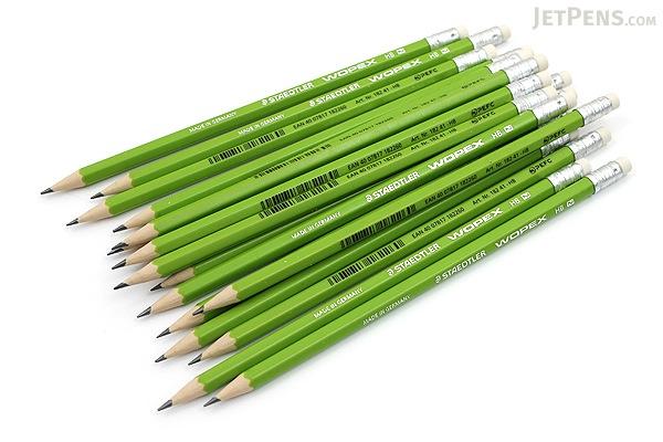 Staedtler Wopex Eco Pencil - HB - Pack of 18 - STAEDTLER 182 41CB18