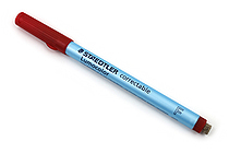 Staedtler Lumocolor Correctable Dry Erase Pen - Fine Point - Red - STAEDTLER 305 F-2