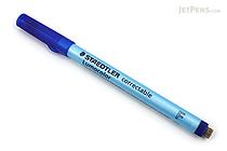 Staedtler Lumocolor Correctable Dry Erase Pen - Fine Point - Blue - STAEDTLER 305 F-3