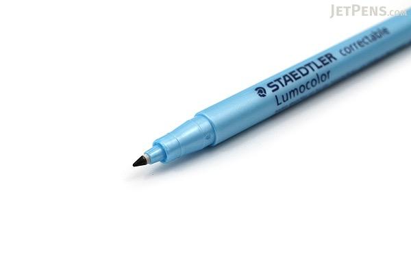 Staedtler Lumocolor Correctable Dry Erase Pen - Fine Point - 4 Color Set - STAEDTLER 305F WP4