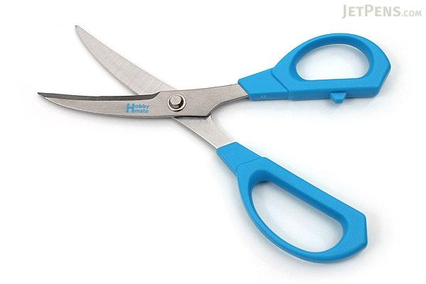 Nikken Hobby Mate Beak Scissors - 175 mm - Blue - NIKKEN BE-10B