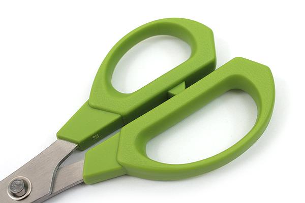 Nikken Hobby Mate Beak Scissors - 155 mm - Green - NIKKEN BE-8G