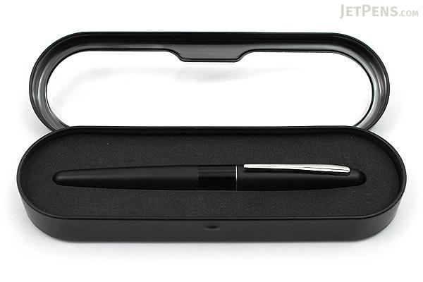 Pilot Metropolitan Fountain Pen - Black Plain - Medium Nib - PILOT MRFC1BLKMBLKP