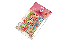 Kurochiku Japanese Pattern Magnet - Ame (Candy) - Set of 6 - KUROCHIKU 71304802