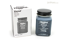 Higgins Eternal Ink - Black - 2.5 oz Bottle - HIGGINS 44041