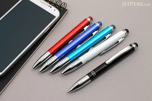 Zebra Wing Stylus C1 Ballpoint Pen - 0.7 mm - Red Body - ZEBRA P-ATC1-R