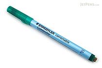 Staedtler Lumocolor Correctable Dry Erase Pen - Fine Point - Green - STAEDTLER 305 F-5