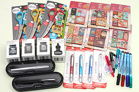 New Products: The Black Magic Ink, Kurochiku Magnets, Stylus-Pens, Fountain Pens, A Brush Pen Set, and More!