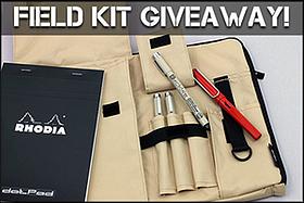 Pen Perks: Field Kit Giveaway