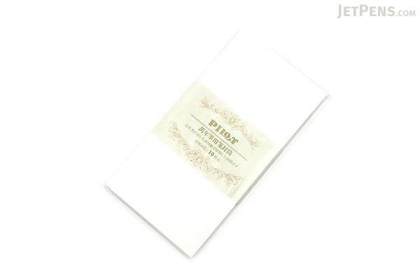 Pilot Envelope for Fountain Pens - Western Style No. 6 - Pack of 10 - PILOT FU-02