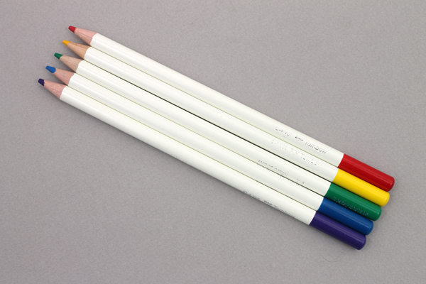 Tombow Irojiten Color Pencil - 5 Color Set - Primary - TOMBOW 61530
