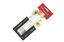 Tombow Irojiten Color Pencil - 5 Color Set - Fluorescent - TOMBOW 61532