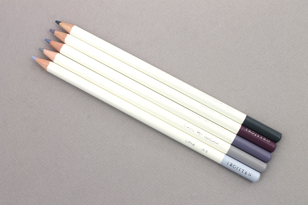 Tombow Irojiten Color Pencil - 5 Color Set - Grayscale - TOMBOW 61533