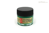 Speedball Emerald Green Calligraphy Ink - Pigmented Acrylic - 0.4 oz Bottle - SPEEDBALL 3103
