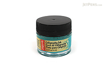 Speedball Teal Green Calligraphy Ink - Pigmented Acrylic - 0.4 oz Bottle - SPEEDBALL 3106
