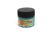 Speedball Pigmented Acrylic Calligraphy Ink - 0.4 oz - Teal Green - SPEEDBALL 3106