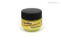 Speedball Primrose Yellow Calligraphy Ink - Pigmented Acrylic - 0.4 oz Bottle - SPEEDBALL 3111