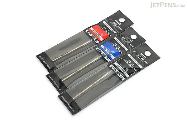 Uni SXR-200-05 Jetstream Ballpoint Multi Pen Refill - D1 - 0.5 mm - Black - UNI SXR20005.24