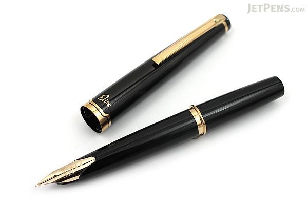 Pilot Elite 95S Fountain Pen - Black - Medium Nib - PILOT FES-1MM-B-M