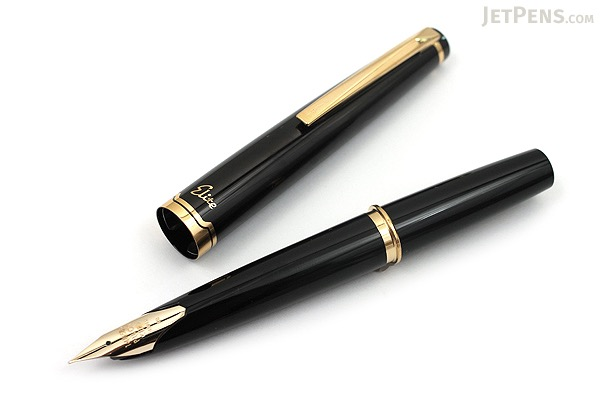 Pilot Elite 95S Fountain Pen - Black - Medium Nib - PILOT FES-1MM-B-M