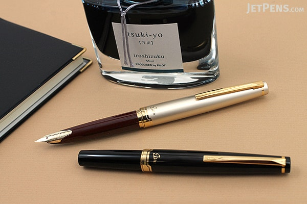 Pilot Elite 95S Fountain Pen - Deep Red - Fine Nib - PILOT FES-1MM-DR-F