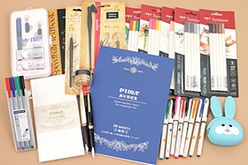New Products: Fountain Pens, Calligraphy Pens, Color Pencils, Paper, and More!
